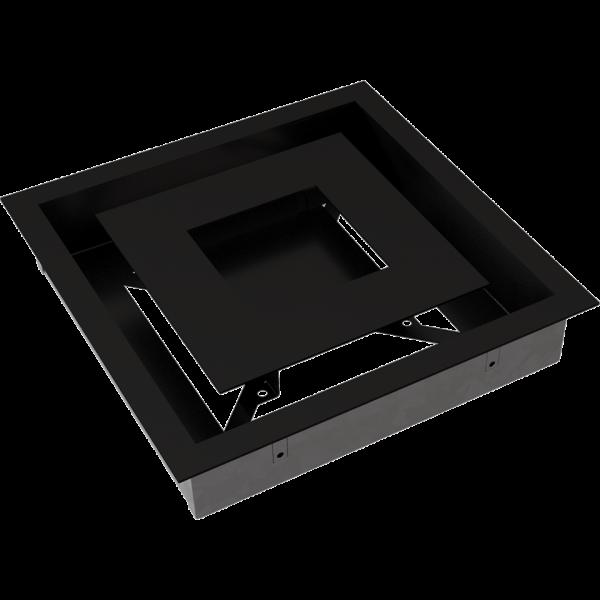 Решітка WIND чорна 22x22