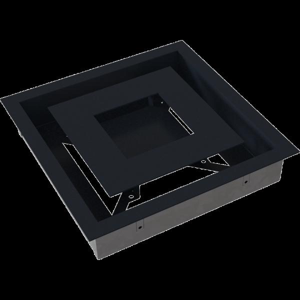 Решітка WIND графітова 22x22