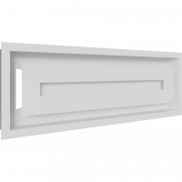 Решітка WIND біла 17x49