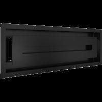 Решітка WIND чорна 17x49