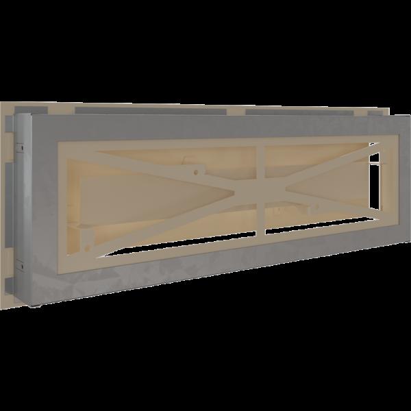 Решітка WIND кремова 17x49