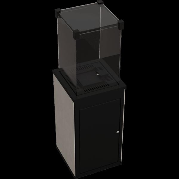 Газовый обогреватель Kratki PATIO MINI керамогранит FOKOS SALE - пульт (8,2 кВт)