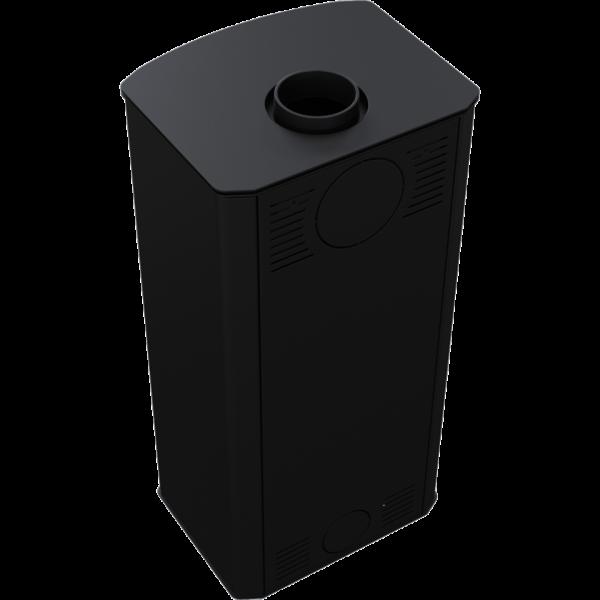 Сталева піч-камін Kratki KOZA PROTON (8,0 кВт)