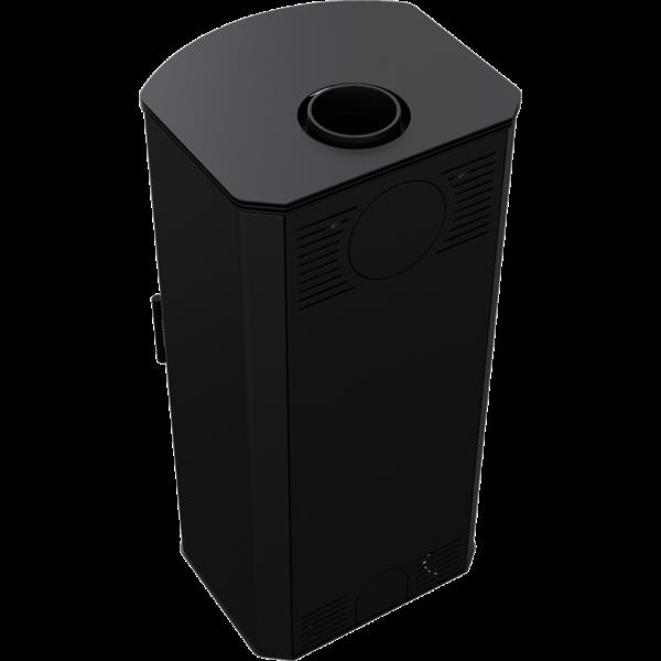Сталева піч-камін Kratki KOZA TITAN (11,0 кВт)