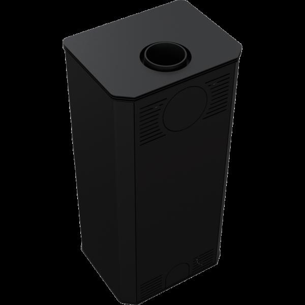 Сталева піч-камін Kratki KOZA TITAN GLASS  (11,0 кВт)